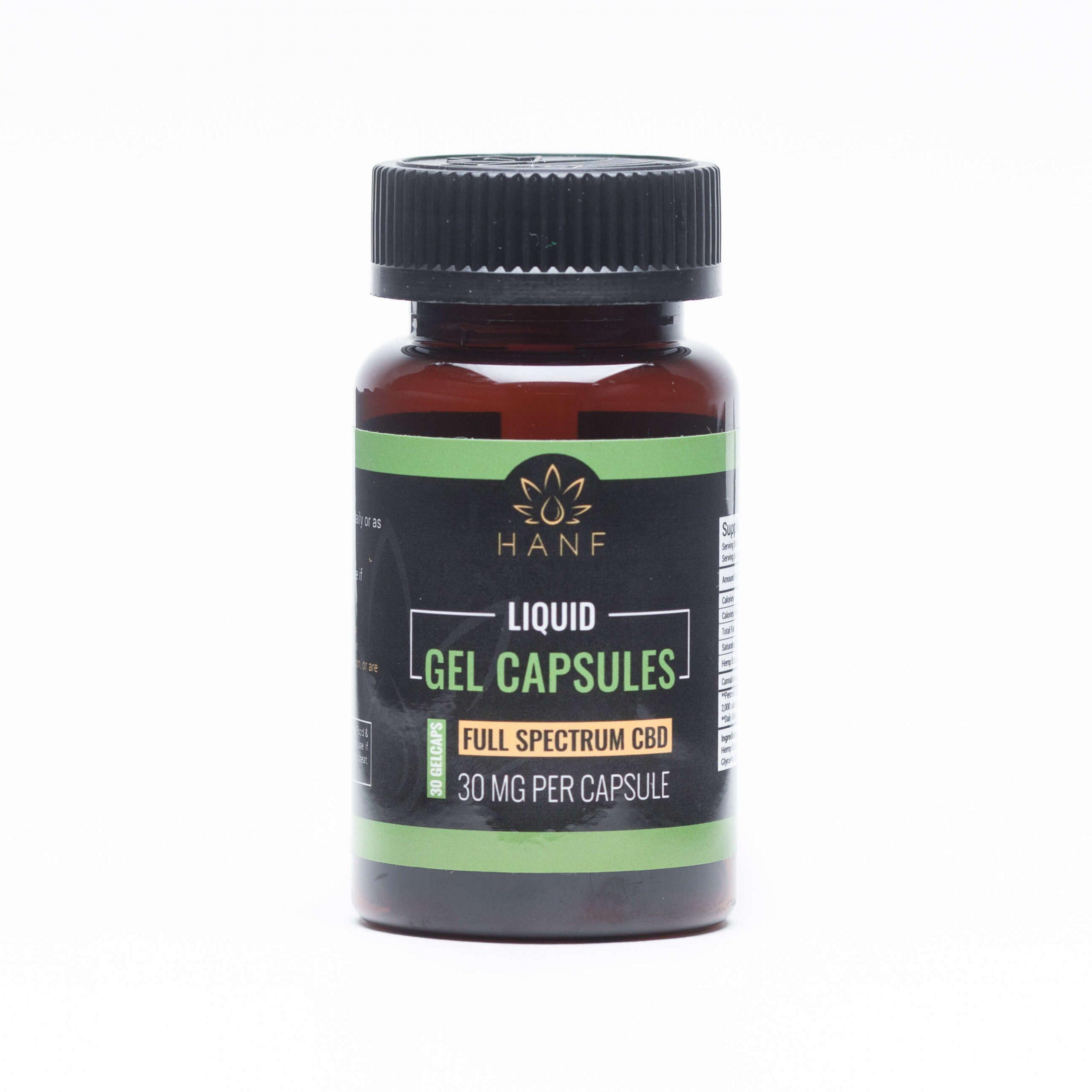 Hanf liquid gel capsules