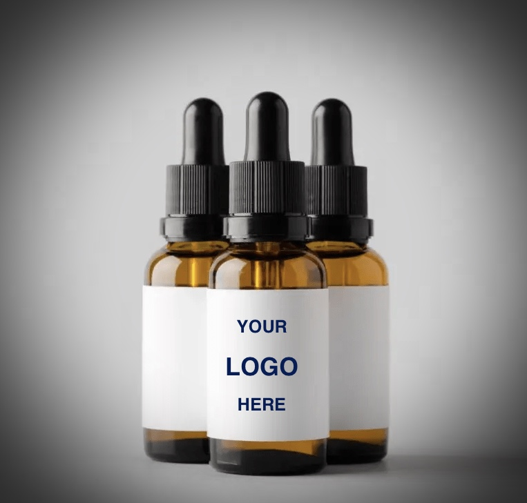 white label example of CBD tincture